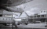 Photos from can '124 Argosy G-APRN route-proving flight June 1960' at Ciampino, Rome in 1960