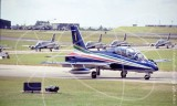 FRECCE-TRICOLOR - Aermacchi MB-339 at Waddington in 2004