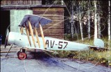 AV-57 - Avro 504 at Finnish Air Force Museum in 1980