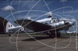 WD413 - Avro Anson at Alconbury in 1982