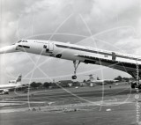 G-AXDN - BAC Concorde at Farnborough in 1974