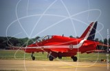 RED - BAe Systems Hawk T.1 at Fairford in 2005