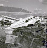 N7526 - Beech 18 at Tucson Arizona in 1971