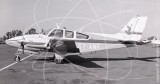 5Y-ANF - Beech Baron at Wilson Airport in 1972