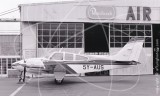 5Y-AUS - Beech Baron at Wilson Airport in 1975