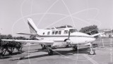VH-ASY - Beech Queen Air at Essendon in 1981