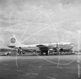 N1022V - Boeing 377 Stratocruiser at Singapore in 1954