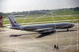 B-162B - Boeing 707 at Singapore in 1980