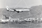 F-BHSJ - Boeing 707 328 at Kai Tak Hong Kong in 1969