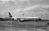 G-APFF - Boeing 707 436 at London Airport in 1963