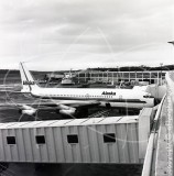 N301AS - Boeing 707 062 at Anchorage in 1974