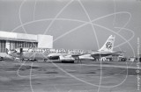 N325F - Boeing 707 349C at San Francisco Airport in 1967