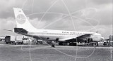 N710PA - Boeing 707 121 at London Airport in 1959