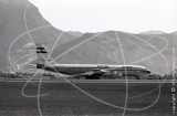 SU-APD - Boeing 707 366c at Kai Tak Hong Kong in 1972