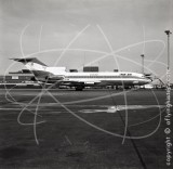EP-IRA - Boeing 727 86 at Heathrow in 1966