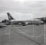 9M-AQO - Boeing 737 at Singapore in 1972