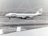 N654PA - Boeing 747 121 at San Francisco Airport in 1971