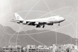 N657PA - Boeing 747 121 at Kai Tak Hong Kong in 1972
