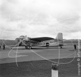 G-AICS - Bristol 170 Freighter Mk.21 at Le Touquet in 1955