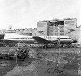 G-ANBE - Bristol Britannia at London Airport in 1957
