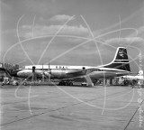 G-ANBF - Bristol Britannia at London Airport in 1957