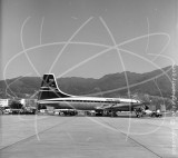 G-ANBF - Bristol Britannia at Kai Tak Hong Kong in 1961
