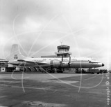 XL657 - Bristol Britannia C1 at Newcastle in 1972