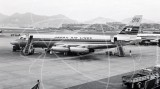 JA8025 - Convair 880 at Kai Tak Hong Kong in 1964
