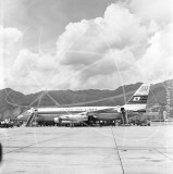 JA8021 - Convair 880M at Kai Tak Hong Kong in 1961