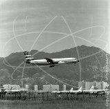 VR-HFT - Convair 880M at Kai Tak Hong Kong in 1965