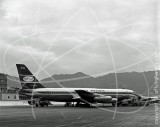 VR-HFX - Convair 880M at Kai Tak Hong Kong in 1966