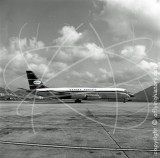 VR-HFZ - Convair 880M at Kai Tak Hong Kong in 1968