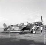 N923 - Curtiss TP-40N at John Wayne Airport, Orange County in 1968