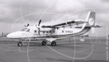 G-BELS - de Havilland Canada DHC-6 Twin Otter SRS 300 at Newcastle in 1982