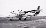 G-BGMD - de Havilland Canada DHC-6 Twin Otter at Newcastle in 1986