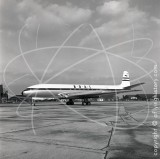 G-AMXD - de Havilland Comet 2E at London Airport in 1957