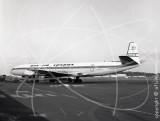 G-AYVS - de Havilland Comet 4C at Newcastle in 1974