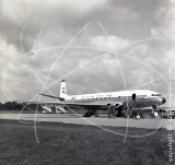 XK669 - de Havilland Comet C.2 at London Airport in 1962