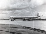 XR398 - de Havilland Comet C4 at Lyneham in 1963