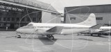 G-ANUO - de Havilland Heron 2 at Beirut Airport in 1956