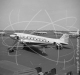N21795 - Douglas C-47 at La Guardia in 1955