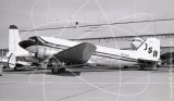 N1213M - Douglas DC-3 at Oakland Airport in 1973