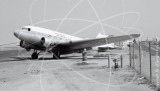 XA-POK - Douglas DC-3 at Long Beach in 1968