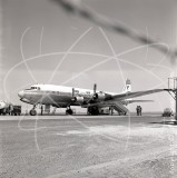 EP-AEX - Douglas DC-6 B at Tehran Airport in 1965