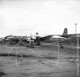 G-AOID - Douglas DC-7 C at London Airport in 1957