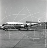 G-AOIE - Douglas DC-7 C at London Airport in 1957