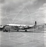 G-AOIF - Douglas DC-7 C at London Airport in 1957