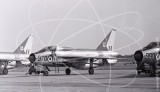 XM970 - English Electric Lightning at Middleton St. George in 1963