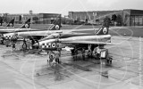 XM989 - English Electric Lightning T.4 at Wattisham in 1963