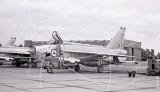 XP700 - English Electric Lightning F.3 at Mildenhall in 1967